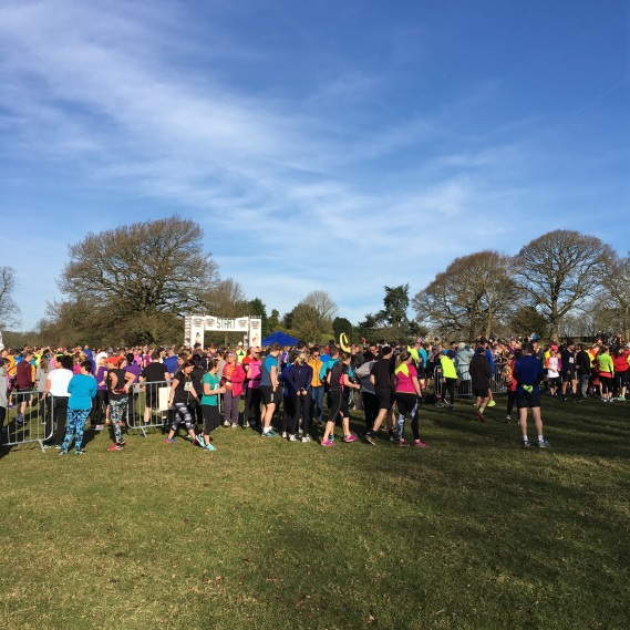 Cheshire 10K - Start Queue (26-03-17)