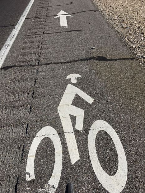 Day 5 Cycle Lane