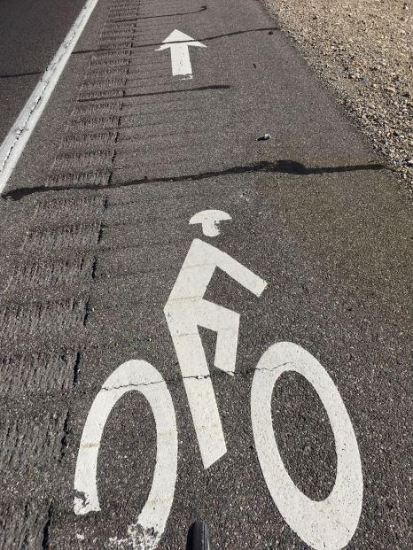 Day 5 Cycle Lane