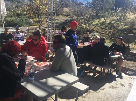 DAY 5 MOUNTAIN SPRINGS LUNCH