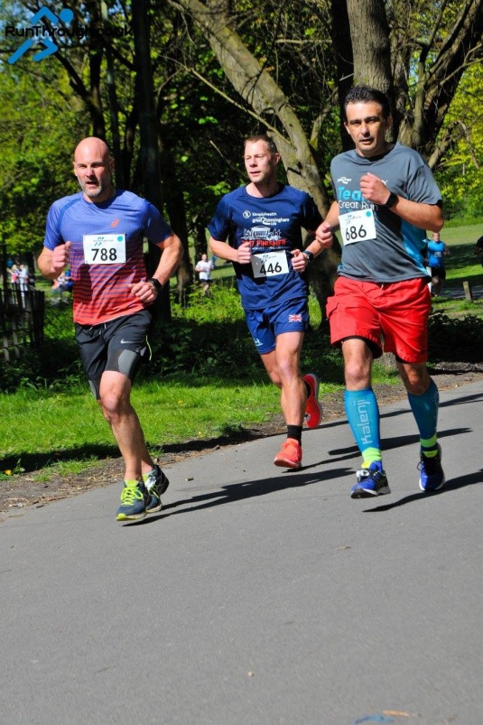Heaton Park 10K Race Photo