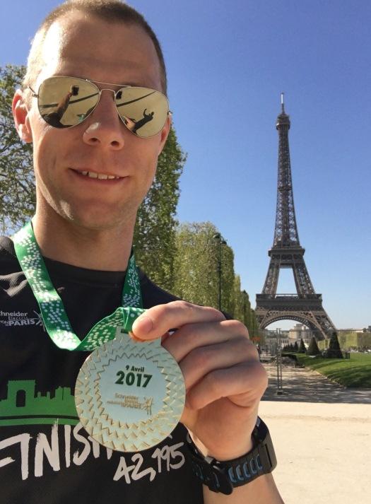 The Cheshire Runner - Paris Marathon 2017