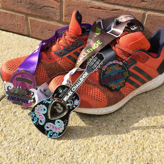 Run Medal - Rock n Roll Liverpool 5k, Marathon & Remix 2017