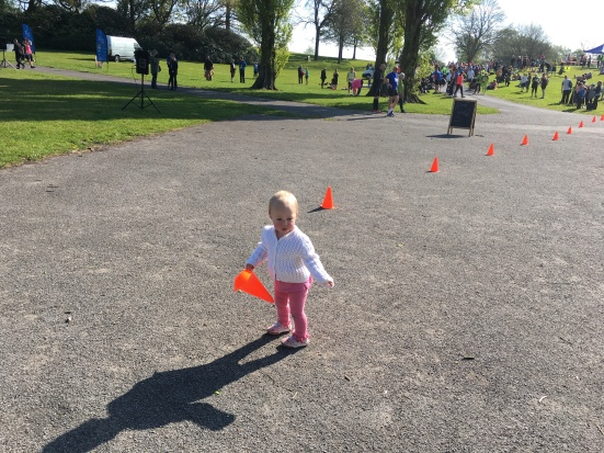 Sienna Alerting the Heaton Park 10K Course (7-5-17)