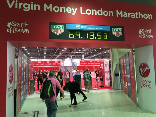London Marathon Expo 1 (19-04-18)