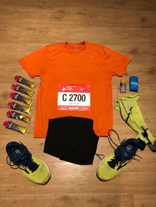 Kit Pic - Chicago Marathon 2018