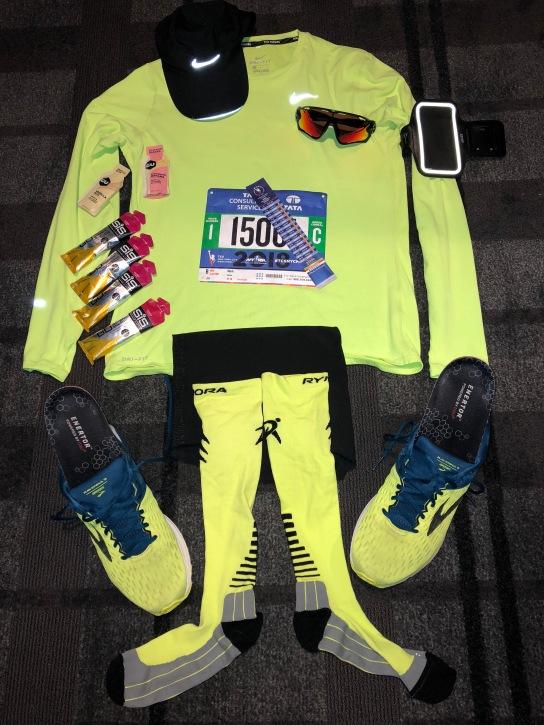 Kit Pic - New York City Marathon 2018